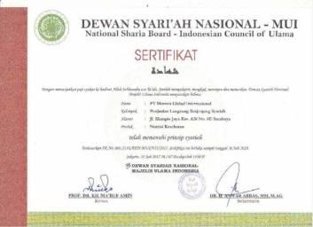 sertifikat syariah moment