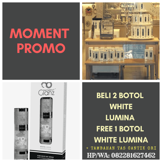 promo moment white lumina