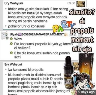 propolis untuk sinusitis