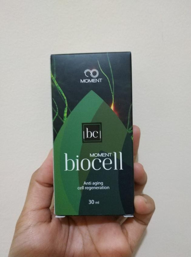 cara pakai biocell moment