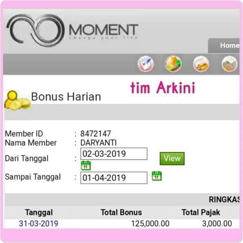 Bonus moment