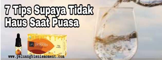 tips tidak haus saat puasa